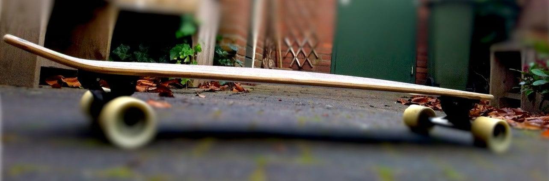 flex van een skateboard