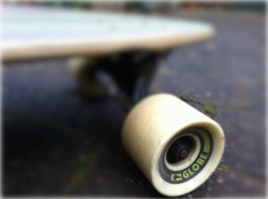 Longboard wielen