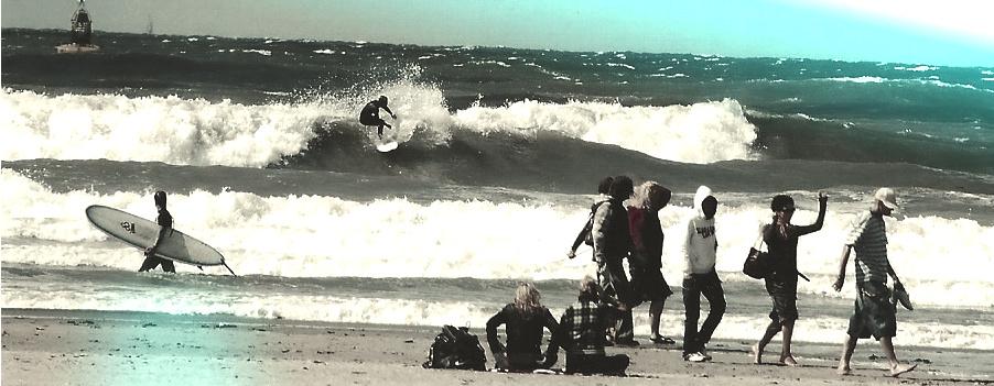 Surfen in Nederland scheveningen