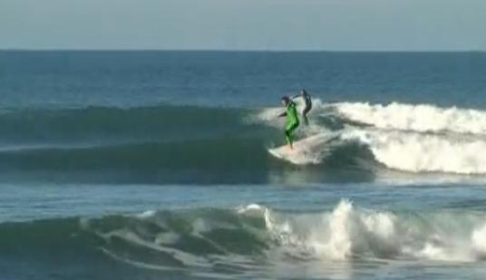 Surfen in Lafitenia