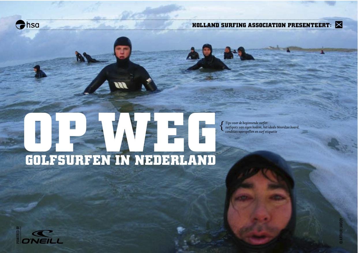 Op Weg - Gratis surfboekje