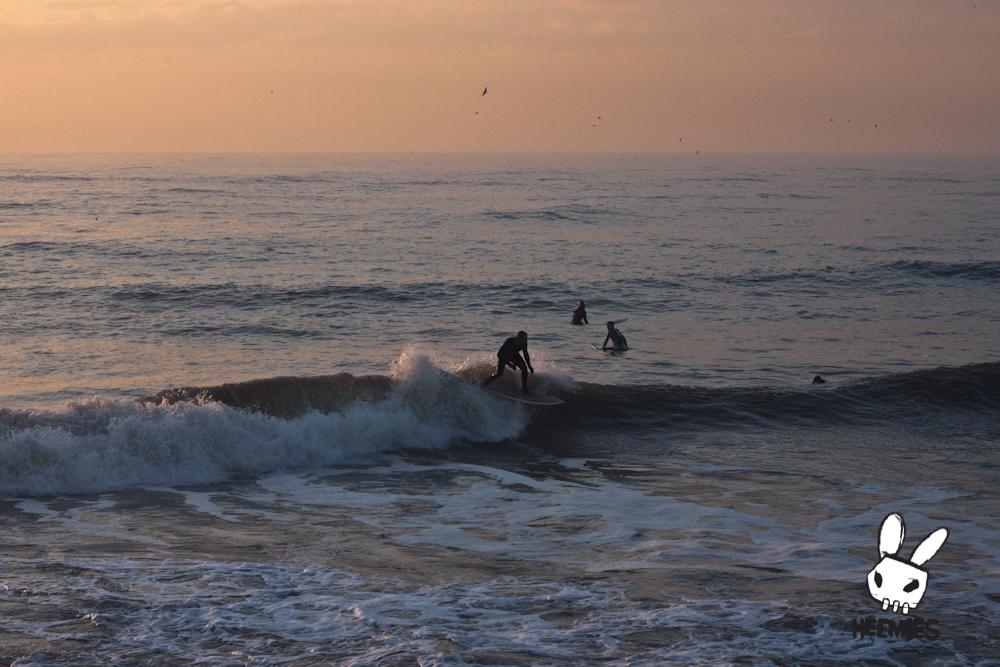 Surfen wijk aan zee