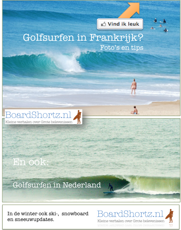 BoardShortz.nl Facebook Welkom