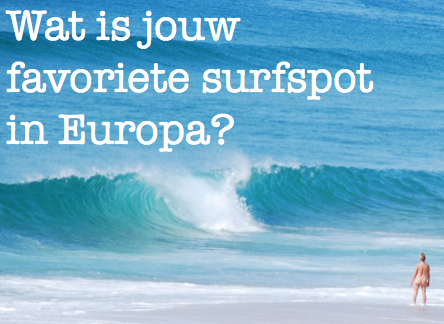 favoriete surfspot