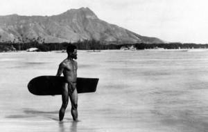 Alaia surfing