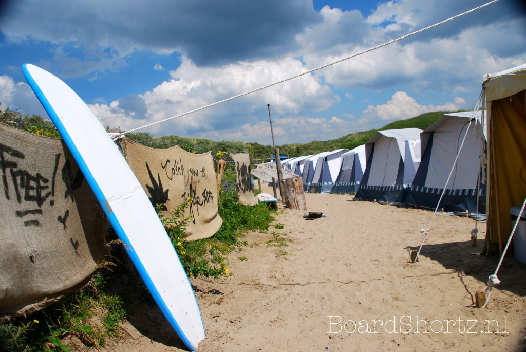 Surfcamp camping De Lakens