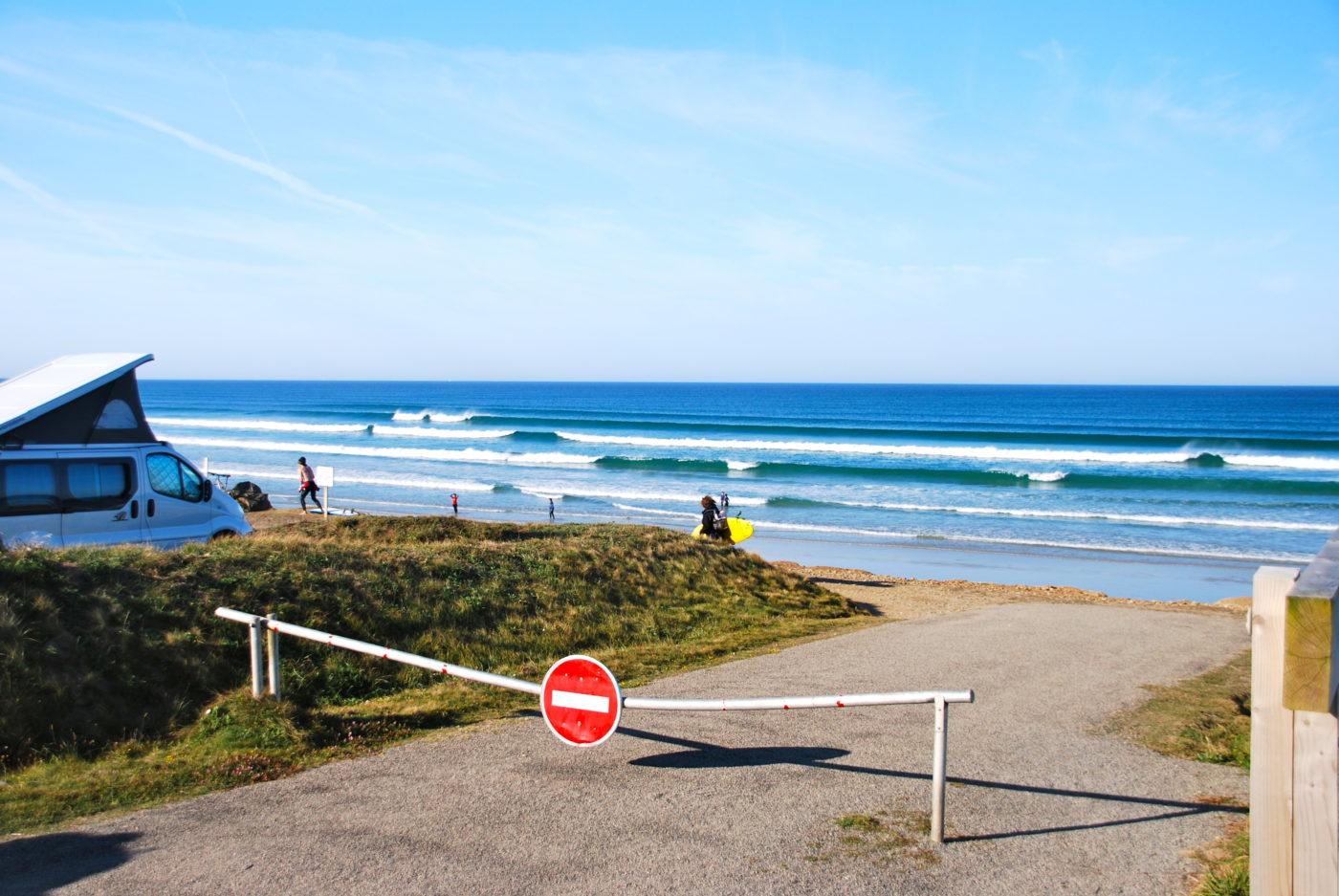 Altijd golven in Bretagne