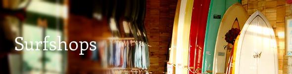 Surfshops en winkels