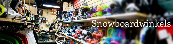 snowboardwinkels en shops