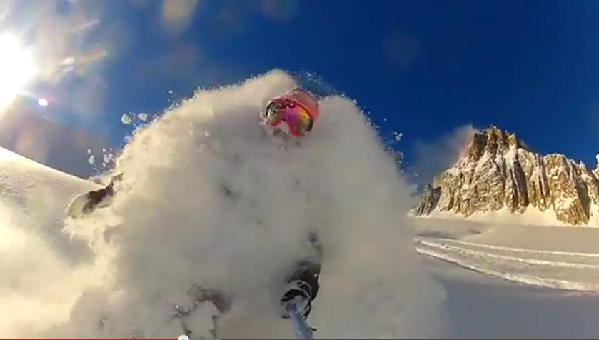 Diepe sneeuw in Chamonix