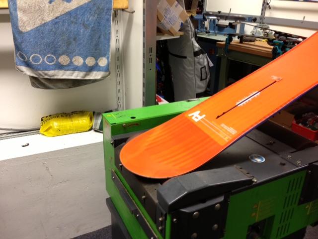 snowboard waxen
