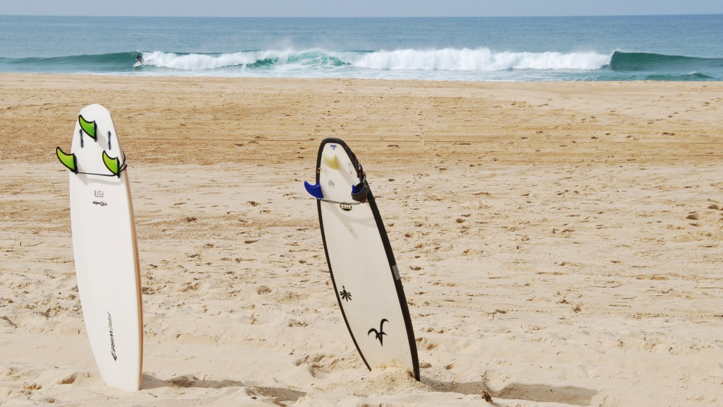 Surfen in Les Landes
