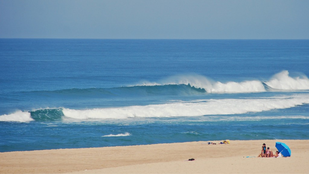 Surfen in Les Landes (Messanges)