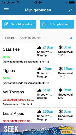 skiinfo app