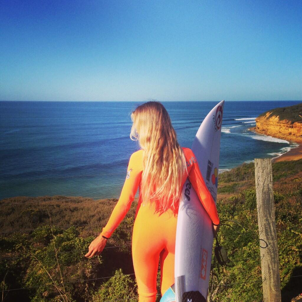 oranje wetsuit