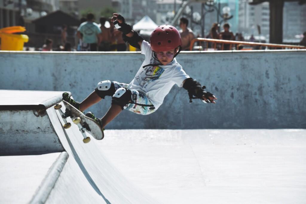 4 jaar ouder skater zarautz