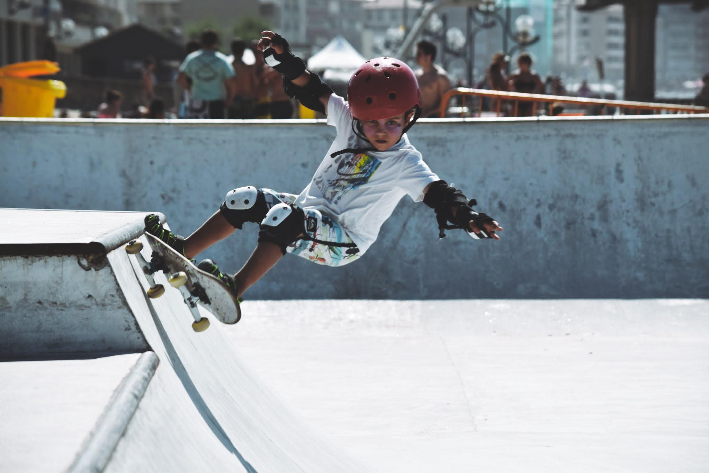 skater 4 year old