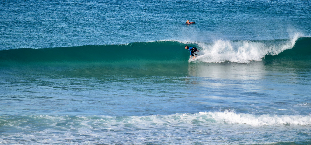 leren surfen in spanje