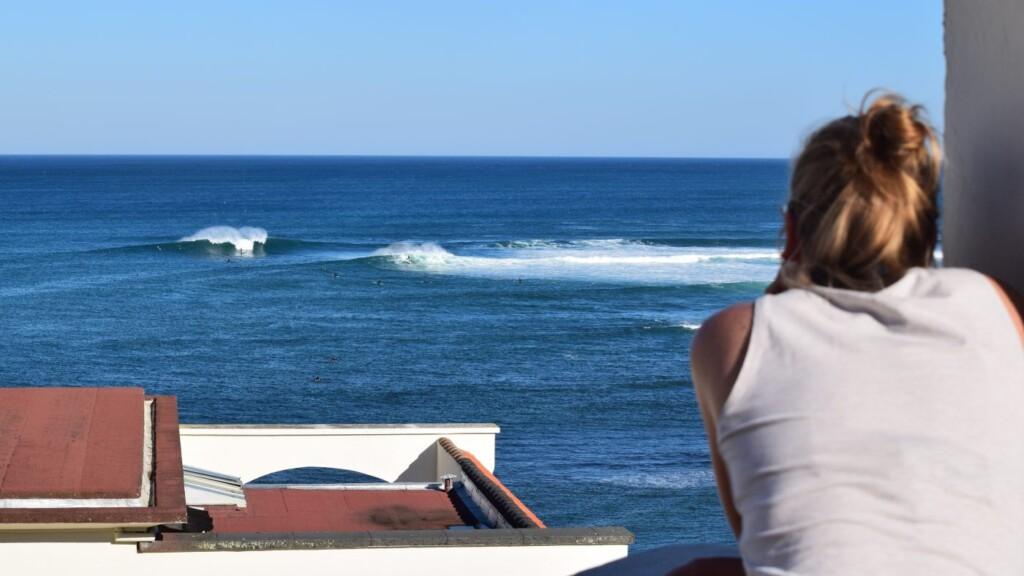 foto surfen guethary