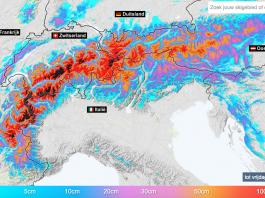 historische sneeuwval