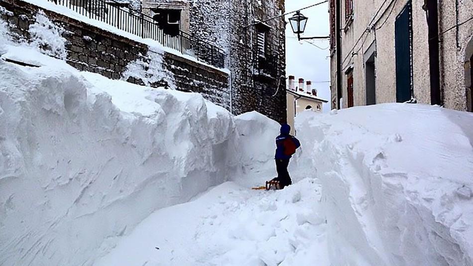 wereldrecord sneeuw