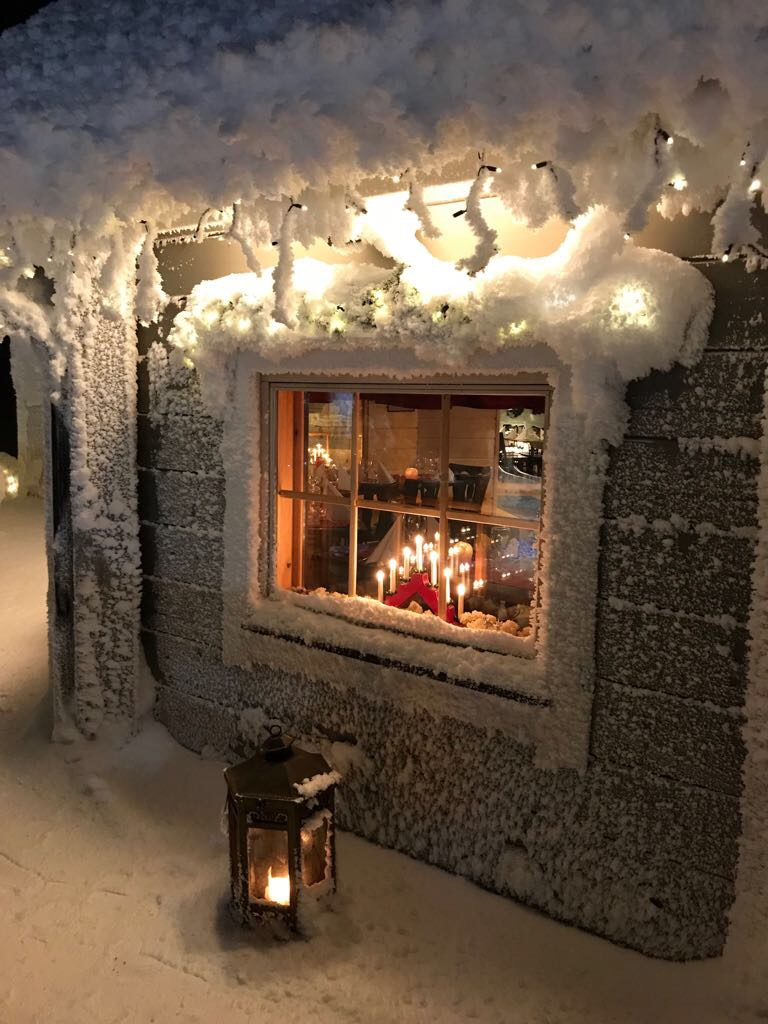 winter huis lapland
