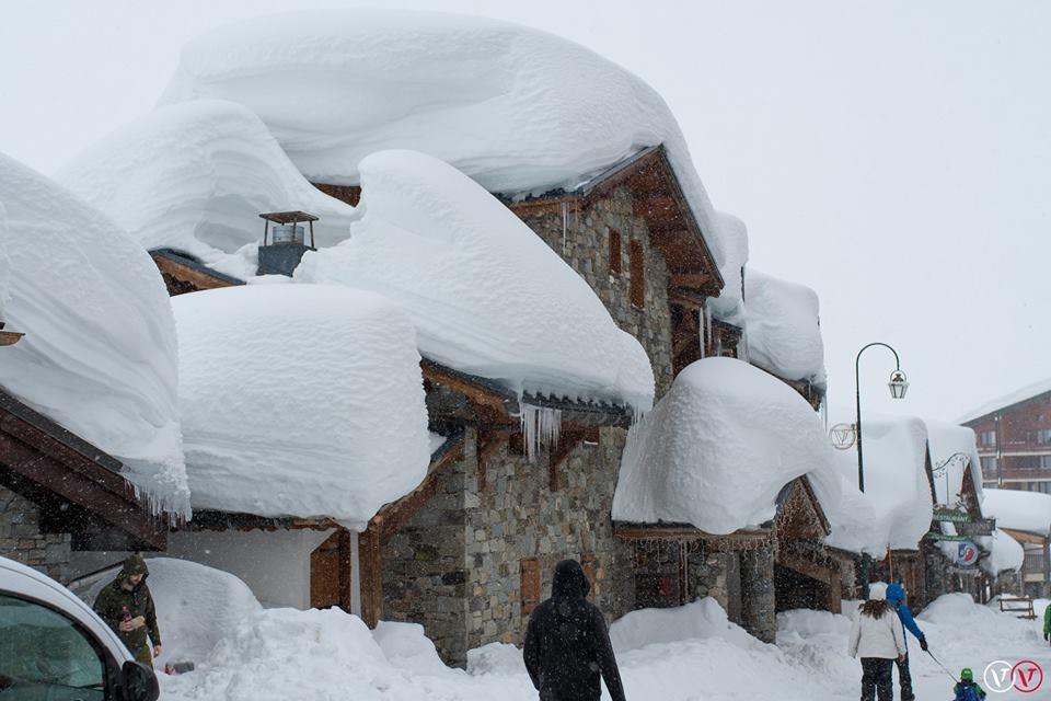 sneeuw val thorens