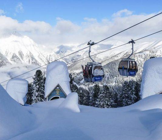 sneeuw in alpen