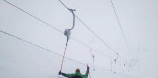sneeuwchaos alpen
