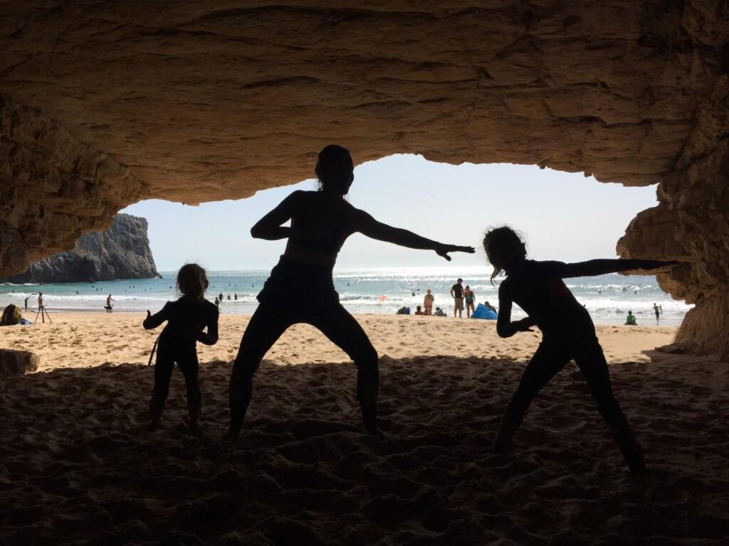 grotten en strand beliche