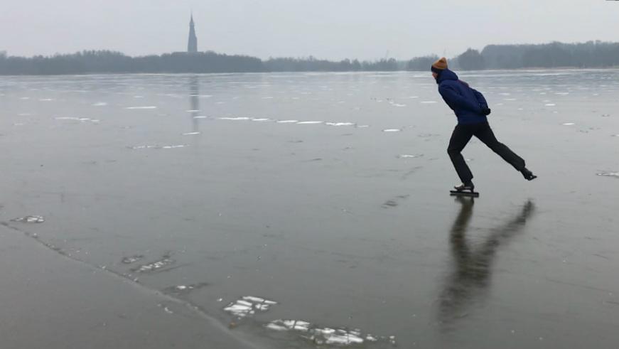 schaatsen zwartijs