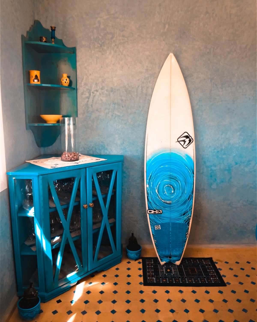room surf paradise morocco