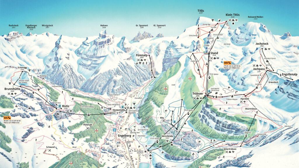 skikaart Engelberg
