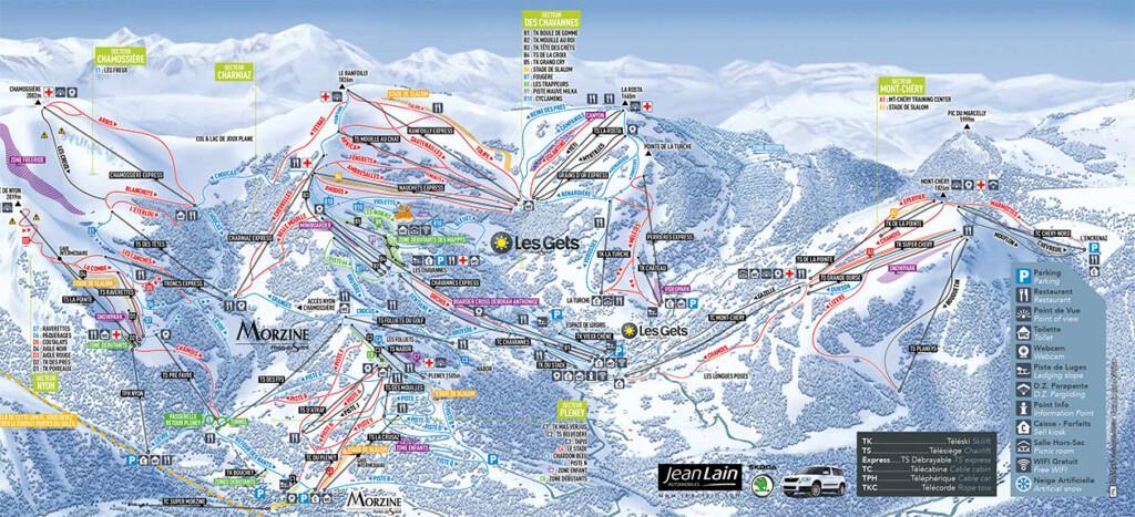 skikaart Les Gets Morzine