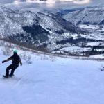 snowboarden myrkdalen