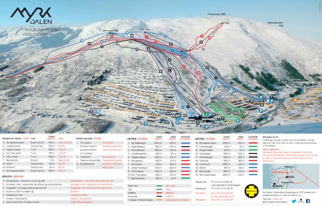 Myrdalen skigebied