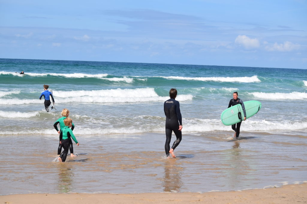 familie surfvakantie