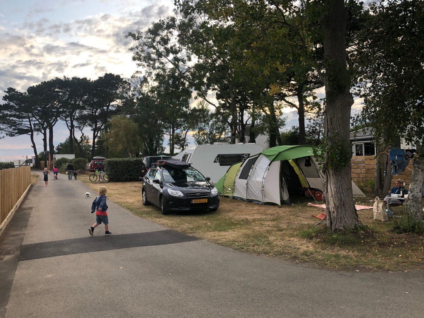 Rustige camping Bretagne