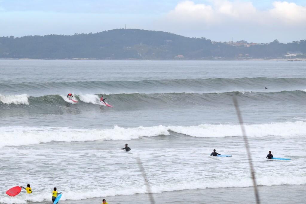 a lanzada surfen galicie