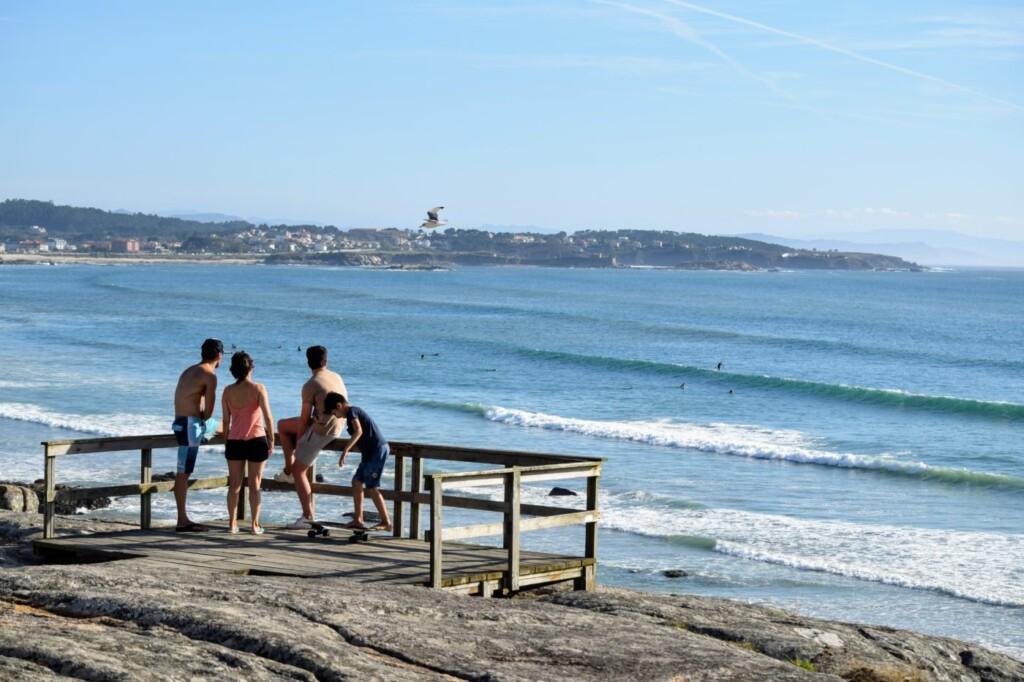 longboarden galicie