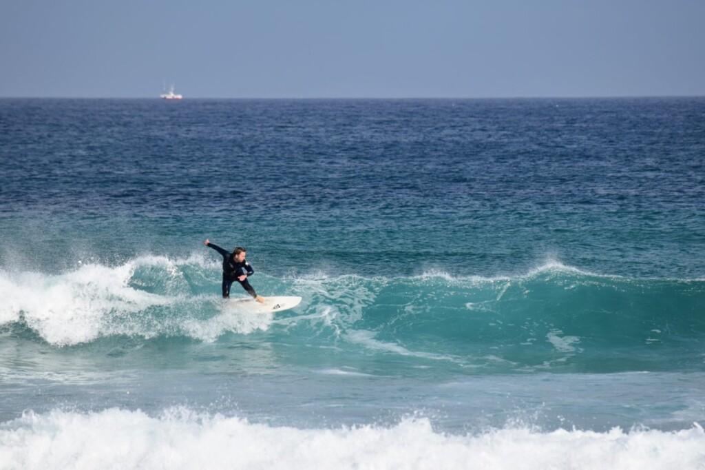 surfen noord spanje