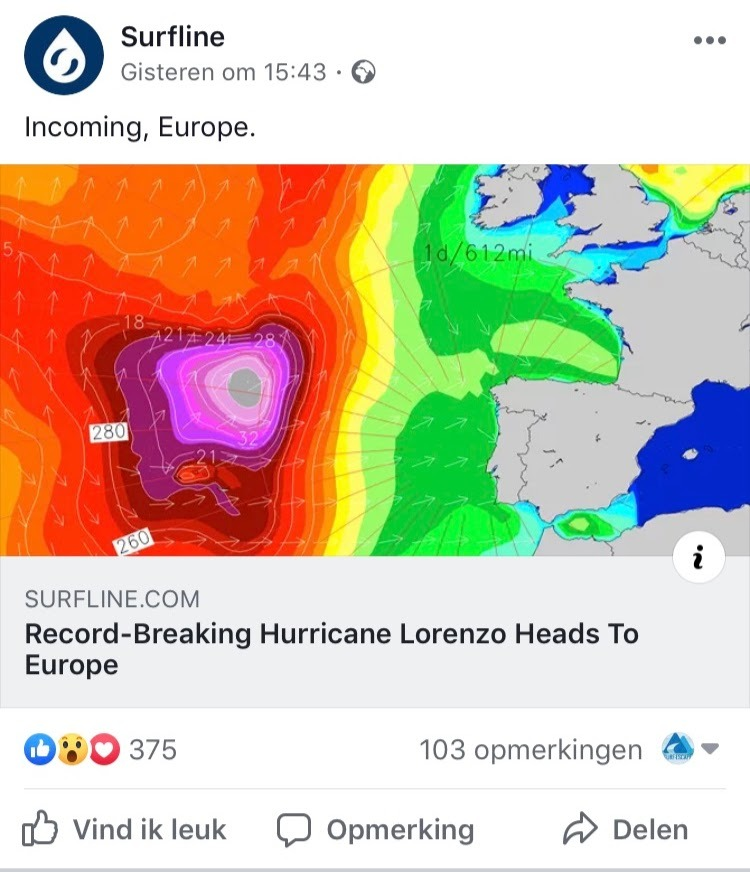loreno orkaan