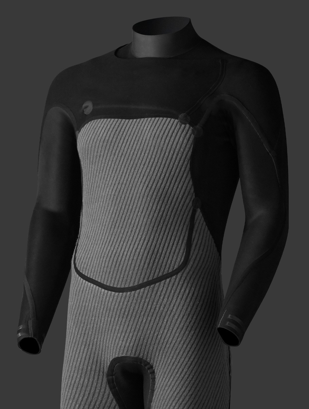 srface wetsuit inside