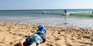 surfen met je gezin