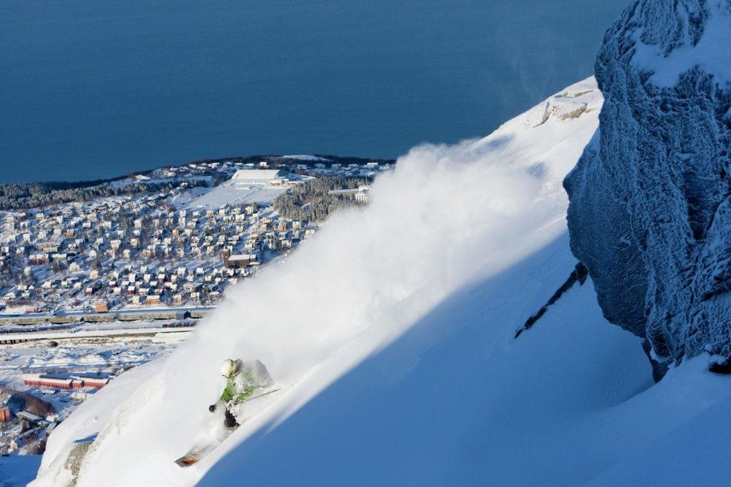 Poeder in Narvik
