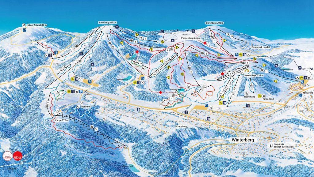 Winterberg skigebied