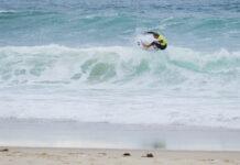 Pepijn Tigges wedstrijd surfen