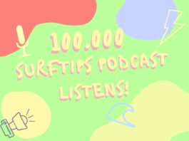 surftips podcast 100.000