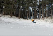 snowboarden in de duinen