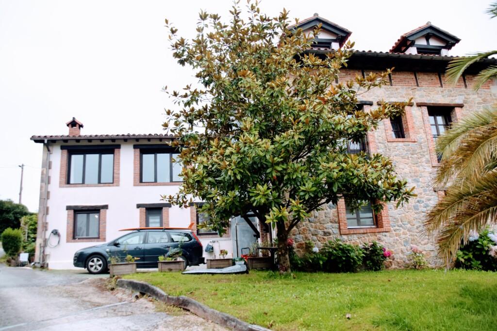 Achterkant van Casa Ohana